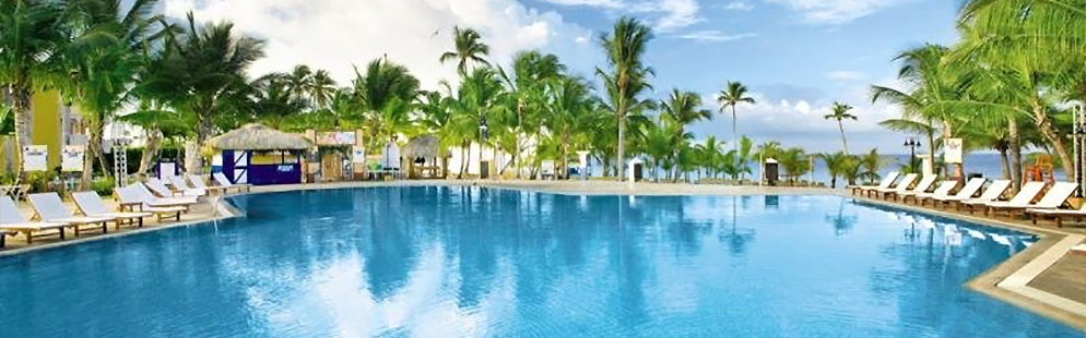 Direkt am weißen Pulverstrand! VIVA WYNDHAM DOMINICUS PALACE mit mehreren Spezialitäten-Restaurants, Obstservice & top Sportangebot!